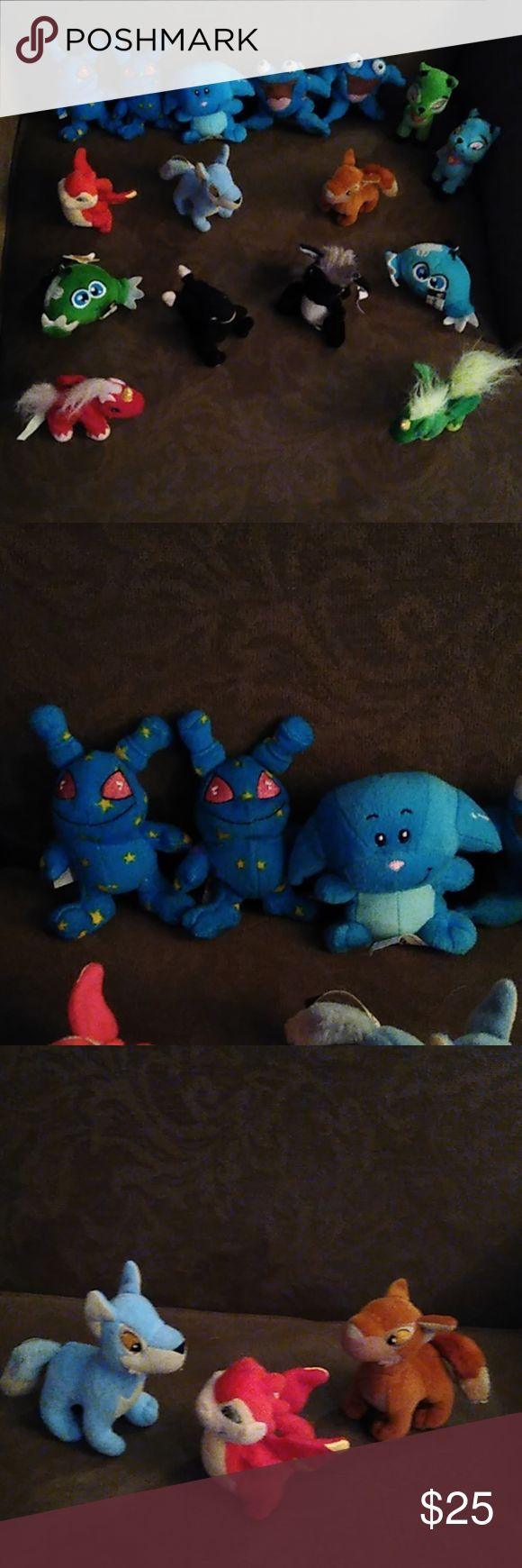 Neopets Adorable little Neopets. Preowned. Lot of 16 from
