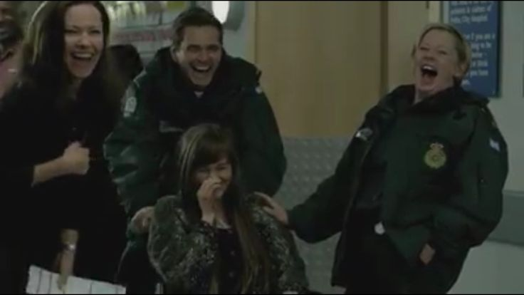 Casualty Christmas trailer.