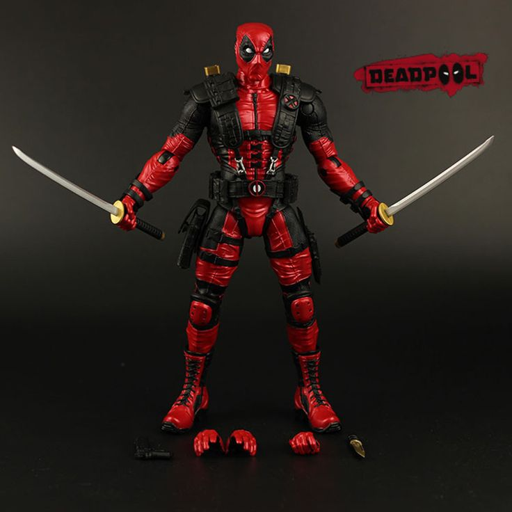 "10"" X-Men Deadpool Action Figure Toys Collectible http://s.click.aliexpress.com/e/vn6Qz7y"