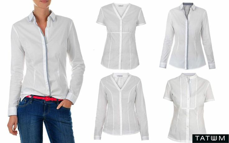 Variations about the white shirt