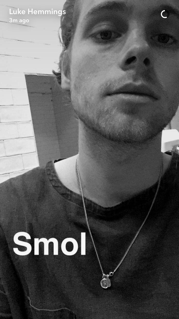 I thought he was Ashton for a second I'm hurt