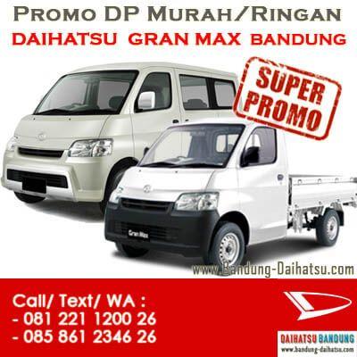 Promo Daihatsu Gran Max Bandung.Diskon,DP Murah/Ringan Daihatsu GranMax Pickup. Sales:ERIS-082127725181