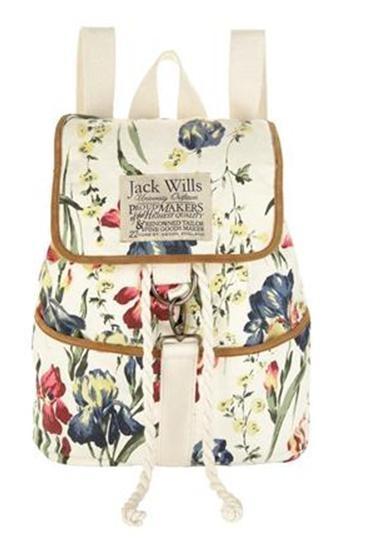 Love! Jack Wills floral backpack! ;)
