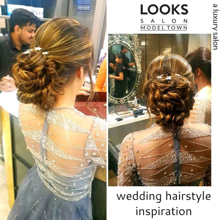 Wedding hairstyle is an inspirational art.... each ringlet is artistically tied to give a ...