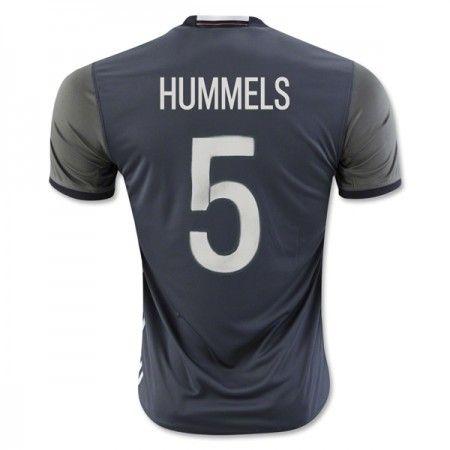 Tyskland 2016 Hummels 5 Borte Drakt Kortermet.  http://www.fotballteam.com/tyskland-2016-hummels-5-borte-drakt-kortermet.  #fotballdrakter