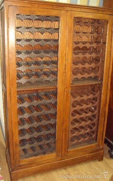Armario botellero restaurado foto 1 coleccion muebles - Armarios antiguos restaurados ...