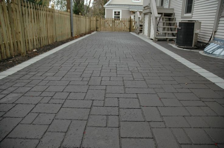 Stamped Asphalt Driveway - Specialty Trades Picture Post - Contractor Talk