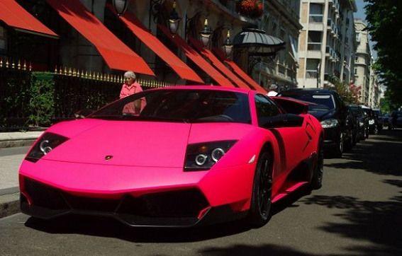 Matte Pink Lamborghini Murcielago Lp670 4 Sv Supercars Pink Supercars Pink Car Pink Lamborghini