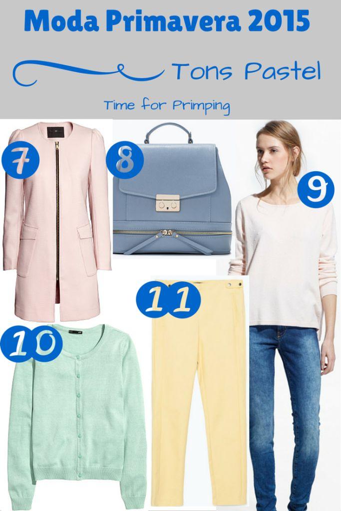 Moda Primavera 2015 - Tons Pastel | Time for Primping