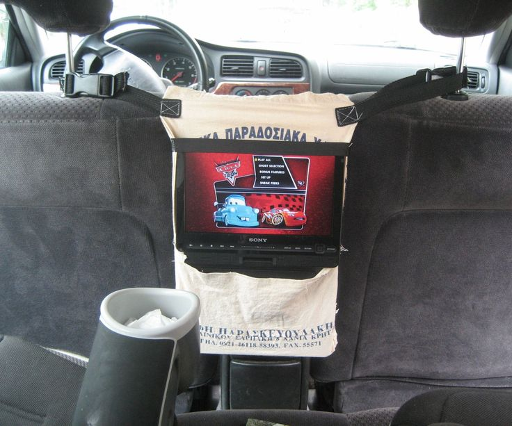 dvd player holder for the car