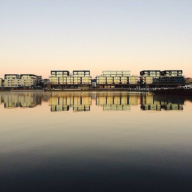 Instagrammer oconnor_em captured the reflections across the Kingston Foreshore beautifully.