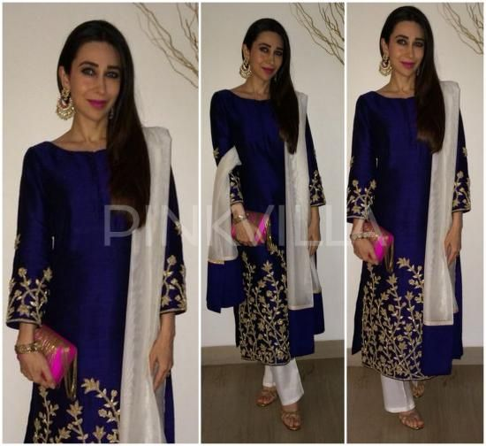 Yay or Nay : Karisma Kapoor in Shruti Sheth and Mayyur Girotra