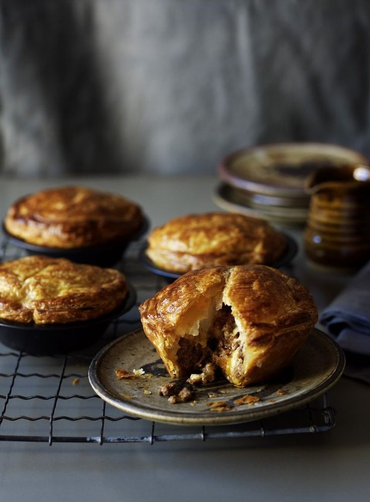 A long-time family favourite, this simple pie relies on making a well flavoured meat filling.
