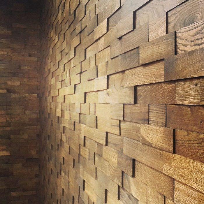 Антик. Стеновые 3D-панели массива древесины (дуб) от Компании «ЕВиРО»   На постоянно прогрессирующем рынке строительных материалов уже трудно кого-то удивить, но все большую популярность набирают простота, экологичность и натуральность. Мы предлагаем Вам еще одну новинку нашей компании - деревянная 3D-плитка.