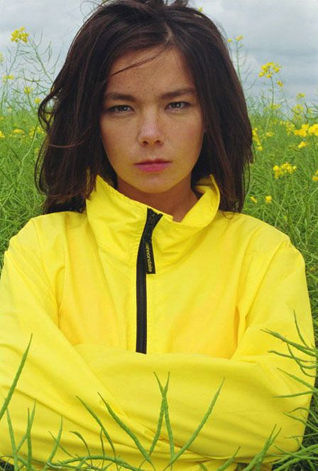 Bjork by John Rankin 1994 (she must like butter!)