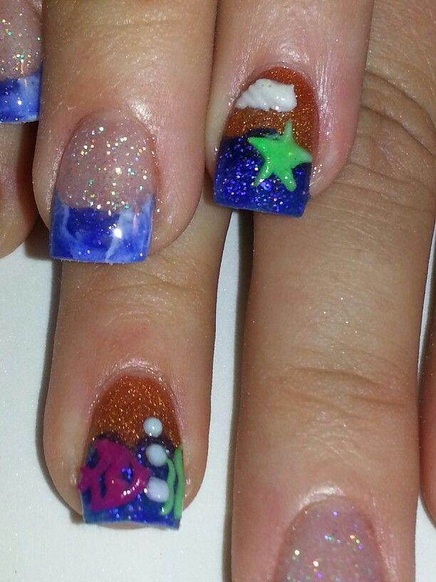 198 best My work images on Pinterest | Nail design, Fingernail ...