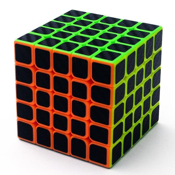 5x5x5 Rubik's Magic Cube 62 MM Colorful Speed Puzzle Cube High Quality 5*5 Stickerless Cubo Rubik Toy for Kids & Adults