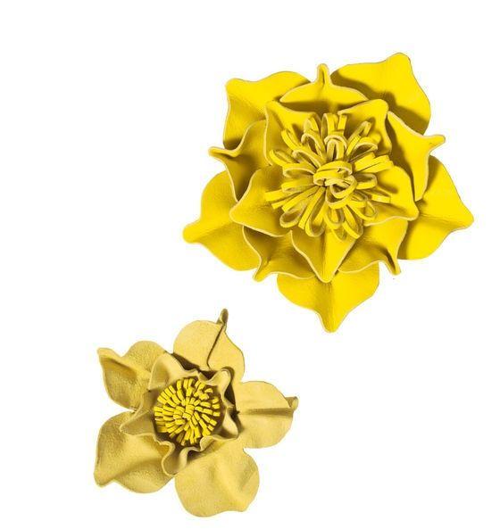 Как сделать и использовать цветы из кожи (Diy*5)