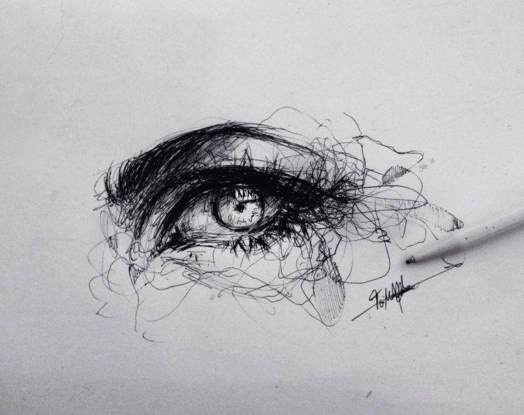 #drawign #pencil #eye