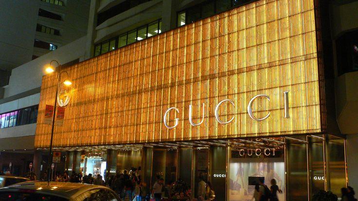 Gucci Boutique / Hong Kong@Flagship Fashion Stores   Fashion store. Gucci. Boutique