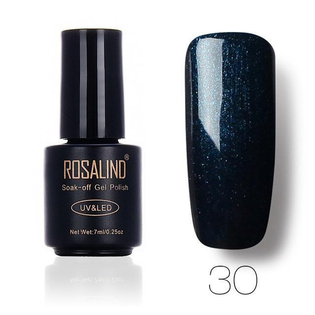 58 Colors Solid Color Nail Polish Profession 7ml Matte Top Coat Nail Polish UV L…