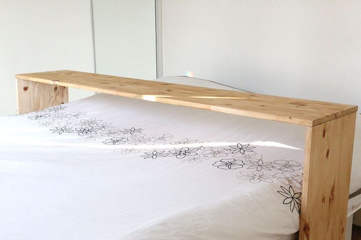 Tuto : une table de lit pour vos brunchs sous la couette 5