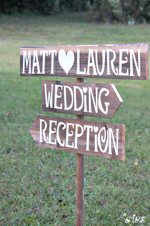 Wedding Reception Sign Wedding Reception Decor Wedding Reception Decorations Rustic Wedding
