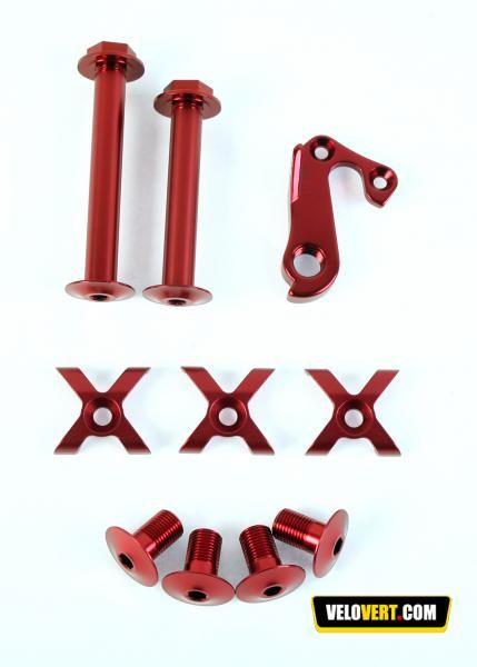 Accessoires VTT : Lapierre Kit Visserie X-Control : Cadres Accessoires