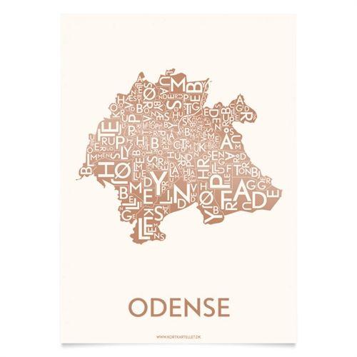 Plakat over Odense - Kortkartellet
