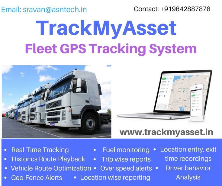 Have you Owned a Fleet Company?   Getting Worried about your Fleet  Vehicles? Are you?  When it Comes to Fleet Company Reliable and Safe Drivers are Important Isn't it?  GPS Fleet Tracking Solutions come with distinct Features   Real-Time Tracking, Customized Reports, Historic Route Playback of Path Traversed, Comprehensive Route Analysis, Fuel Monitoring etc.,  To Known more Information  about Fleet GPS Tracking System click the below link…