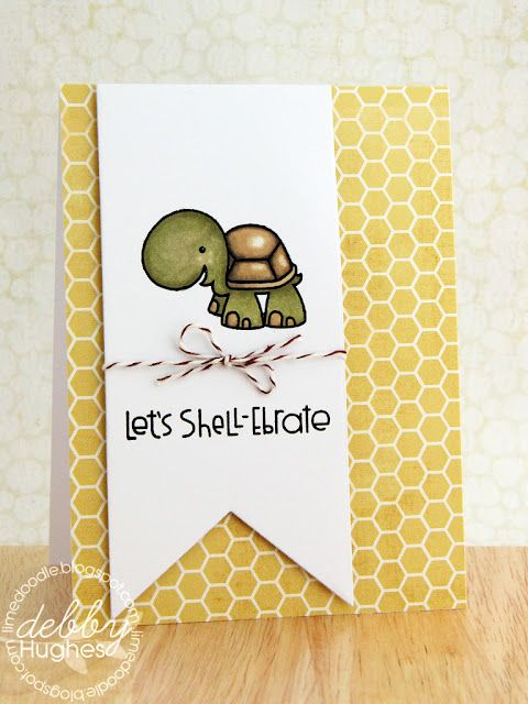 that turtle is adorable, I certainly could find a use for this card!