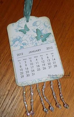 Minikalender-Idee mit Two Tags / SU
