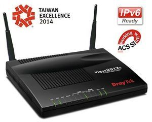 8. DrayTek Vigor2912n Dual WAN Router for Teleworkers and Small Offices