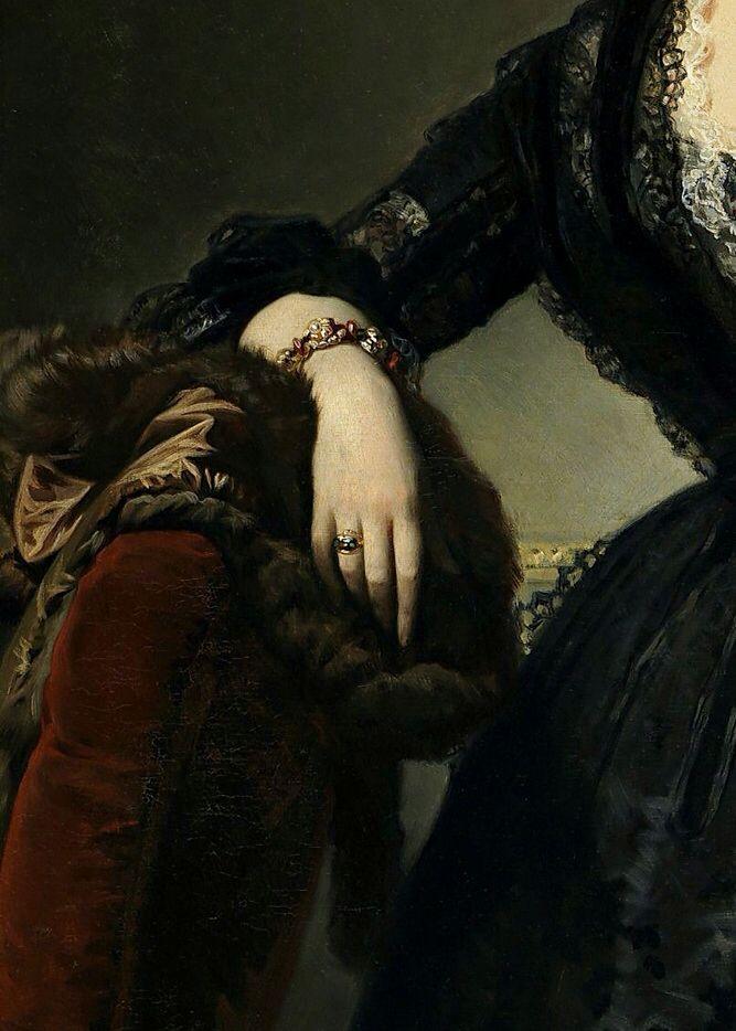 Maria Dolores Aldama,Marquesa de Montelo by Federico de Madrazo y Kuntz