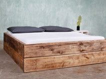 Bauholz Bett Changy 160 x 200 cm