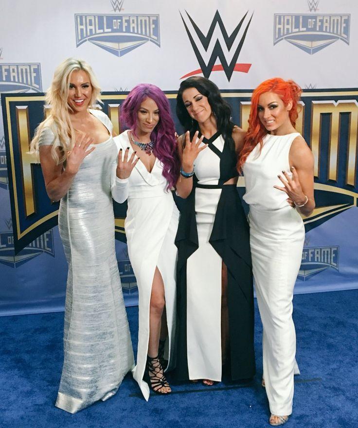 Charlotte, Sasha Banks, Bayley, Becky Lynch