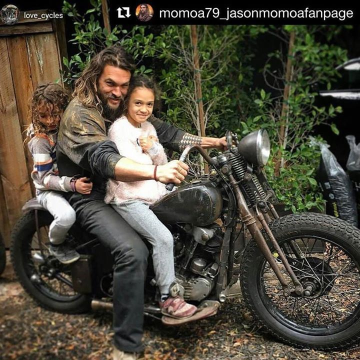 Jason With His Kids.