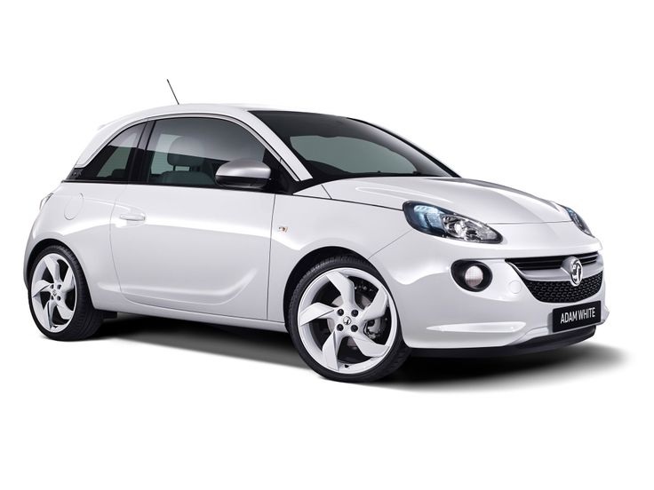 2014 opel adam white edition