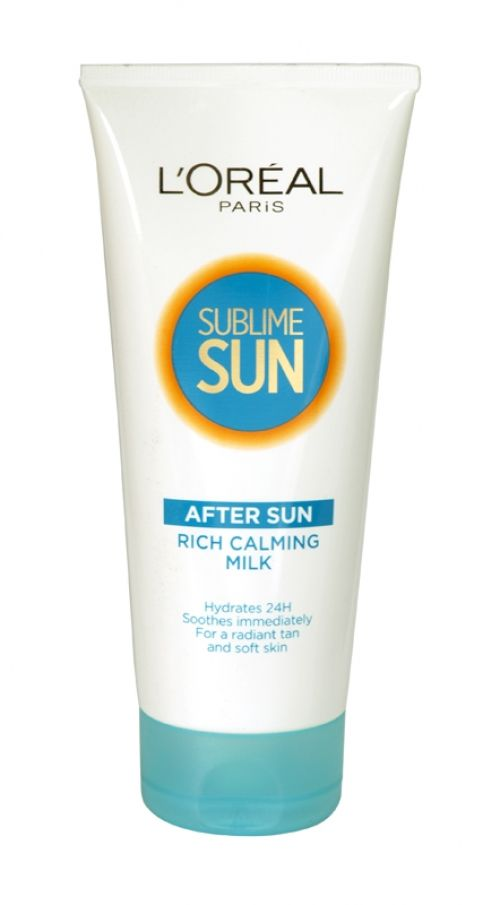 Loreal sublime sun rich calming milk after sun 200ml tube