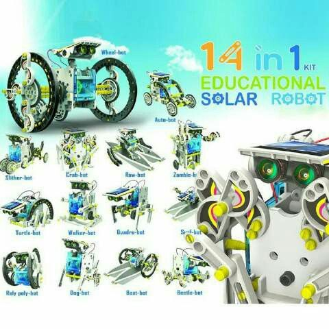 #robot #kits #solarcell 14 in 1 @ 190.000