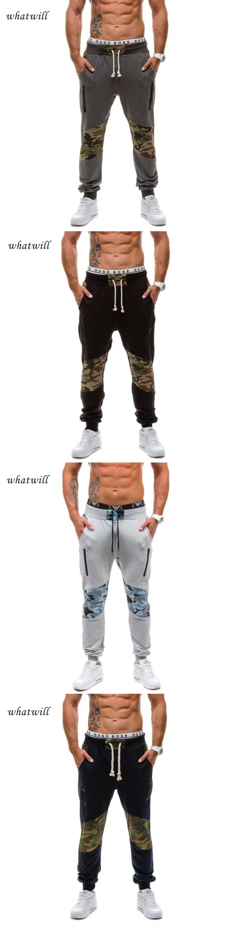 Camouflage style 2017 men pant hip hop joggers casual pantalon homme fashion pantalones hombre fitness trousers sweatpants