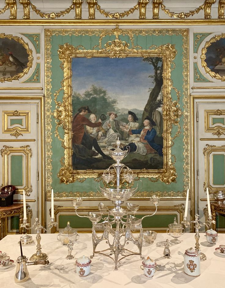 Inside the National Palace of Queluz in 2020 Queluz