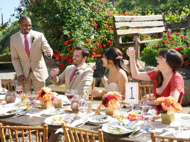 Pin for Later: Schmidt and Cece Finally Tie the Knot in the New Girl Wedding of the Century  Damon Wayans Jr. returns, too!