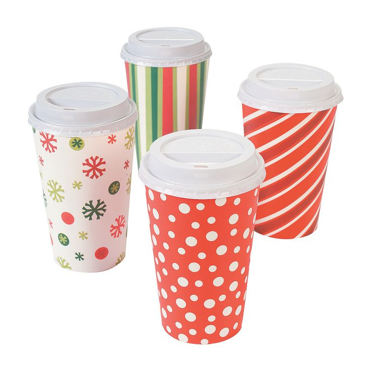 Bright+Christmas+Insulated+Coffee+Paper+Cups+-+OrientalTrading.com