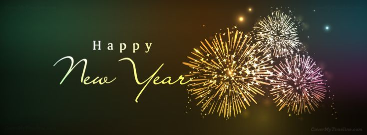 Happy New Year - New Years 2014 Facebook Timeline Cover http://www.covermytimeline.com | Happy New Year Fireworks