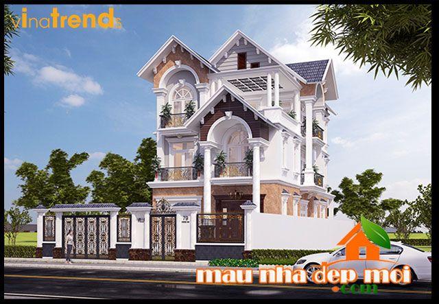 Thiết kế biệt thự 3 tầng đẹp 360m2 mái thái phong cách Victoria  http://maunhadepmoi.com/thiet-ke-biet-thu-3-tang-dep-360m2-mai-thai-phong-cach-victoria-huyen-thoai-tai-tp-long-xuyen-an-giang.html