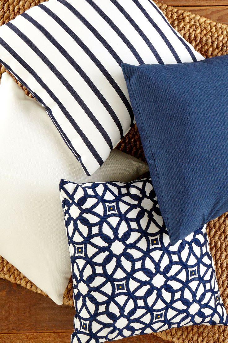 Yacht Club Toss Pillow