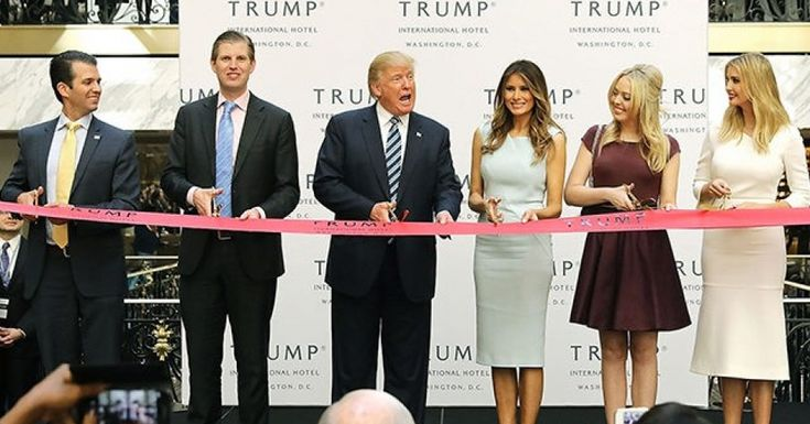 """Donald Trump is about to become president and immediately begin violating the constitution. The constitution explicitly prohibits the president from taking payments and gifts from foreign governments. (Can we stop using the term """"emolument""""? No one has used it for a hundred years. We want to be clear on what the constitution means.)""""If we give a damn about the constitution, Donald Trump has to sell off his empire and place his assets in a blind trust, just like every other pres..."""