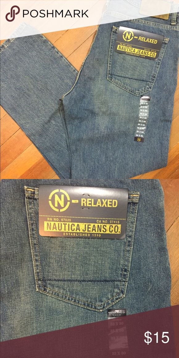 Men's BNWT Nautical Jeans BNWT Men's size 33x30 Relaxed Fit Jeans. Pet free, smoke free home. Nautica Jeans Relaxed
