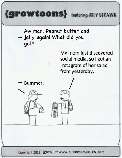 Social Media Humor | Instagram of a salad!! | From Funny Technology - Community - Google+ via Monika Schmidt